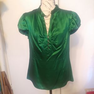 Marc by Marc Jacobs Silk Green Blouse